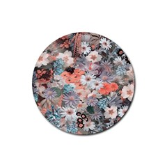 Spring Flowers Drink Coaster (round) by ImpressiveMoments