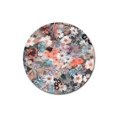 Spring Flowers Magnet 3  (round) by ImpressiveMoments
