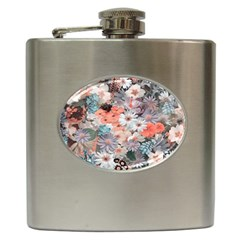 Spring Flowers Hip Flask by ImpressiveMoments