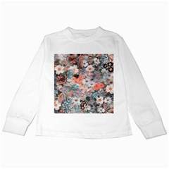 Spring Flowers Kids Long Sleeve T-shirt by ImpressiveMoments