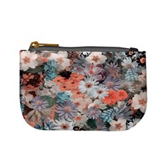 Spring Flowers Coin Change Purse