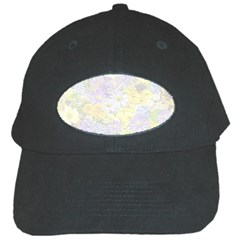 Spring Flowers Soft Black Baseball Cap by ImpressiveMoments
