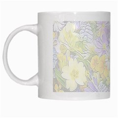 Spring Flowers Soft White Coffee Mug by ImpressiveMoments