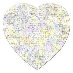 Spring Flowers Soft Jigsaw Puzzle (heart) by ImpressiveMoments