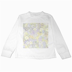 Spring Flowers Soft Kids Long Sleeve T Shirt by ImpressiveMoments