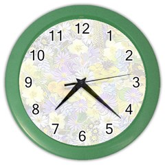 Spring Flowers Soft Wall Clock (color) by ImpressiveMoments