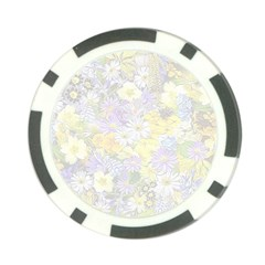 Spring Flowers Soft Poker Chip by ImpressiveMoments