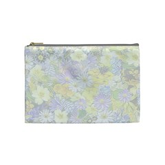 Spring Flowers Soft Cosmetic Bag (medium) by ImpressiveMoments