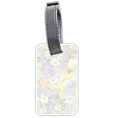 Spring Flowers Soft Luggage Tag (one Side) by ImpressiveMoments