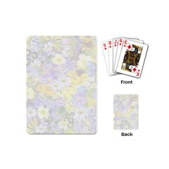 Spring Flowers Soft Playing Cards (mini) by ImpressiveMoments