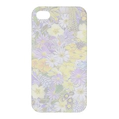 Spring Flowers Soft Apple Iphone 4/4s Hardshell Case by ImpressiveMoments