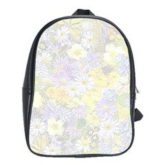 Spring Flowers Soft School Bag (xl) by ImpressiveMoments