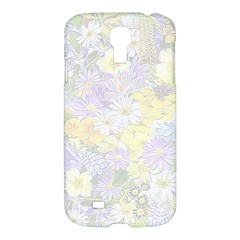 Spring Flowers Soft Samsung Galaxy S4 I9500/i9505 Hardshell Case by ImpressiveMoments