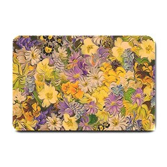 Spring Flowers Effect Small Door Mat by ImpressiveMoments