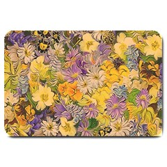 Spring Flowers Effect Large Door Mat by ImpressiveMoments