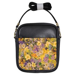 Spring Flowers Effect Girl s Sling Bag by ImpressiveMoments