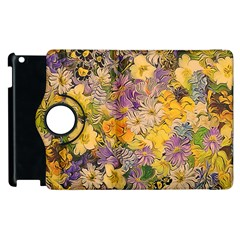 Spring Flowers Effect Apple Ipad 3/4 Flip 360 Case by ImpressiveMoments