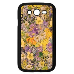 Spring Flowers Effect Samsung Galaxy Grand Duos I9082 Case (black)