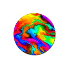 Crazy Effects  Magnet 3  (round) by ImpressiveMoments