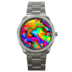 Crazy Effects  Sport Metal Watch by ImpressiveMoments