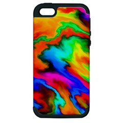Crazy Effects  Apple Iphone 5 Hardshell Case (pc+silicone) by ImpressiveMoments