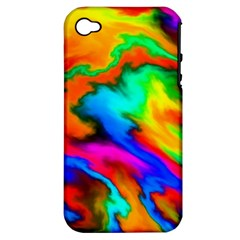 Crazy Effects  Apple Iphone 4/4s Hardshell Case (pc+silicone) by ImpressiveMoments