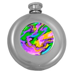 Crazy Effects  Hip Flask (round) by ImpressiveMoments
