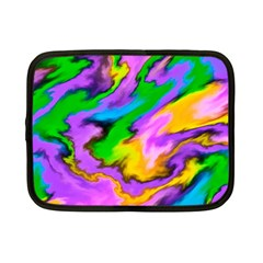Crazy Effects  Netbook Sleeve (small) by ImpressiveMoments