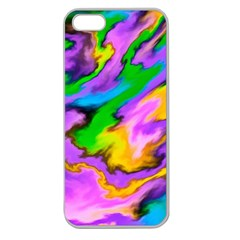 Crazy Effects  Apple Seamless Iphone 5 Case (clear) by ImpressiveMoments