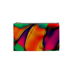 Crazy Effects  Cosmetic Bag (small) by ImpressiveMoments