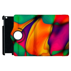 Crazy Effects  Apple Ipad 3/4 Flip 360 Case by ImpressiveMoments