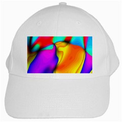 Crazy Effects White Baseball Cap