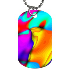 Crazy Effects Dog Tag (one Sided)