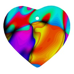Crazy Effects Heart Ornament (two Sides) by ImpressiveMoments