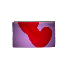I Love You Cosmetic Bag (small) by WonderfulDreamPicture