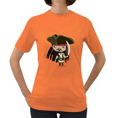Captain Sparrow Womens' T Shirt (colored)