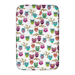 Happy Owls Samsung Galaxy Note 8 0 N5100 Hardshell Case  by Ancello