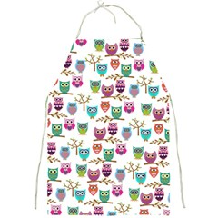 Happy Owls Apron by Ancello