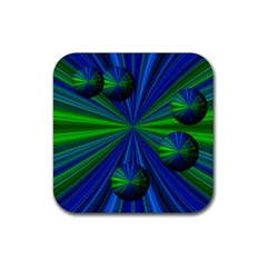Magic Balls Drink Coaster (square) by Siebenhuehner
