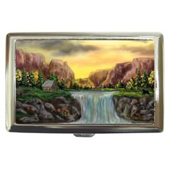 Brentons Waterfall   Ave Hurley   Artrave   Cigarette Money Case by ArtRave2