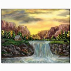 Brentons Waterfall   Ave Hurley   Artrave   Canvas 8  X 10  (unframed) by ArtRave2