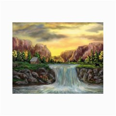 Brentons Waterfall   Ave Hurley   Artrave   Canvas 24  X 36  (unframed) by ArtRave2