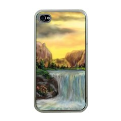 Brentons Waterfall   Ave Hurley   Artrave   Apple Iphone 4 Case (clear) by ArtRave2