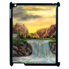 Brentons Waterfall   Ave Hurley   Artrave   Apple Ipad 2 Case (black) by ArtRave2
