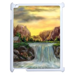 Brentons Waterfall   Ave Hurley   Artrave   Apple Ipad 2 Case (white)