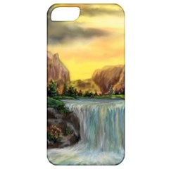 Brentons Waterfall   Ave Hurley   Artrave   Apple Iphone 5 Classic Hardshell Case by ArtRave2
