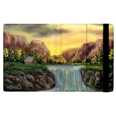 Brentons Waterfall   Ave Hurley   Artrave   Apple Ipad 2 Flip Case by ArtRave2