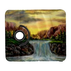 Brentons Waterfall   Ave Hurley   Artrave   Samsung Galaxy S  Iii Flip 360 Case by ArtRave2