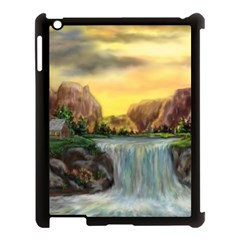 Brentons Waterfall   Ave Hurley   Artrave   Apple Ipad 3/4 Case (black) by ArtRave2