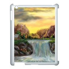 Brentons Waterfall   Ave Hurley   Artrave   Apple Ipad 3/4 Case (white)